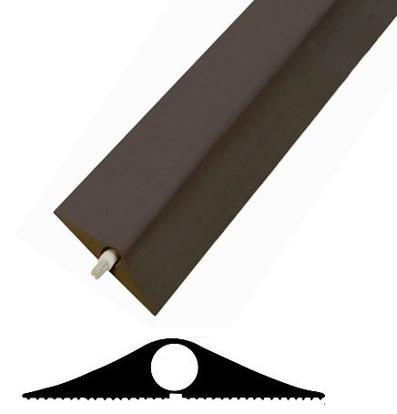 superior black floor cable tidy protector best quality cover for permanent use single large. Black Bedroom Furniture Sets. Home Design Ideas