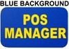 POS Manager Insert Card for Professional Armbands - [IH-AB-POSM]