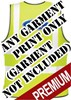 Premium EasyPrint™ - BACK PRINT Print on any Hi Vis garment - Minimum of 12 Prints - Garment Not Included - [IH-EPPBP]