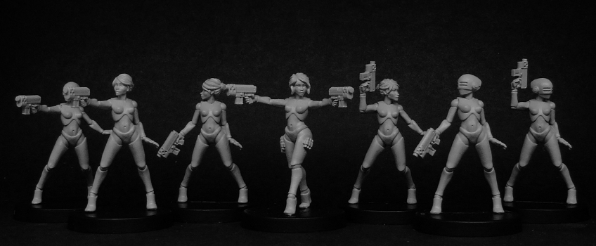 Mei-Lin Mayfair and the Hong Kong Killer Fembots Return!