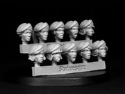 SMA303 Heroic Scale Female Heads - Berets