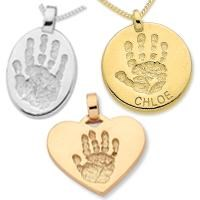 2.5cm Single Sided, 9ct GOLD 1 Hand or 1 Foot