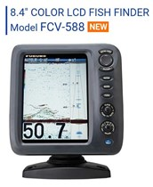 FCV-588 Colour LCD Fish Finder