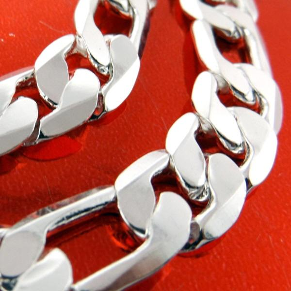 925 sterling silver filled solid heavy italian bling mens br
