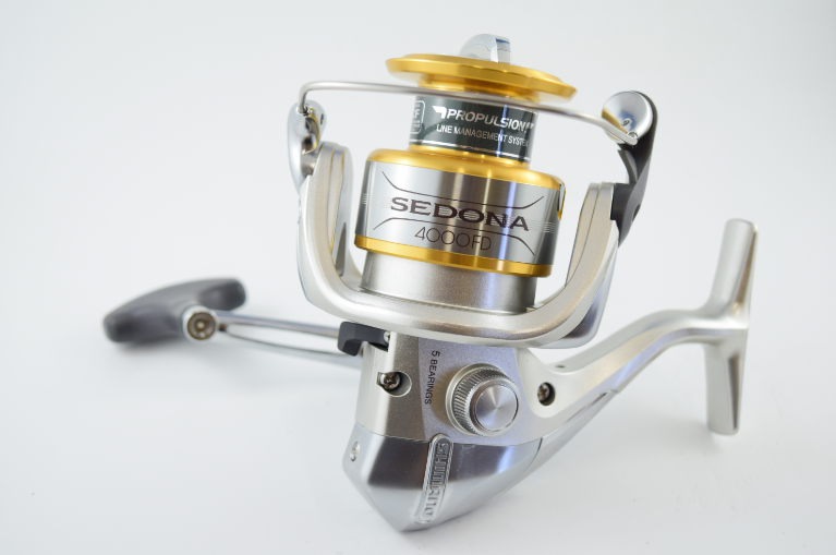 Shimano sedona fd spinning reels from 99 for Fishing reel sizes