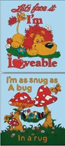 Snugbug & Loveable Picture Set-of-2