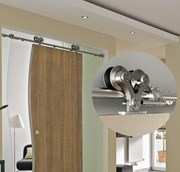 1.8M Top mounted Barn Door Hardware S21