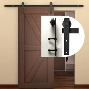 1.25M Side Mount Sliding Barn Door hardware B07
