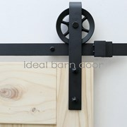 2.8M Side Mount Sliding Barn Door hardware  B09