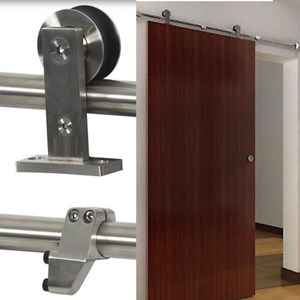 2.4M Top mounted Sliding Barn Door Hardware S01