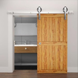 2.4M Sliding Barn Door Hardware S09