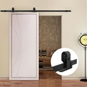 2.8M Top Mounted Sliding Barn Door hardware B01