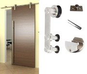 2.8M Side mounted Barn Door Hardware S02