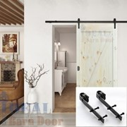 2.4M Side Mount Sliding Barn Door hardware B02