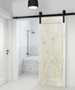X-Brace Barn Door BD006H (2400mm)