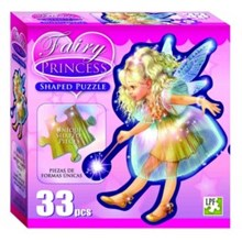 Fairy Princess Shaped Puzzle