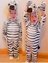 Kids Dress Up Costume - Zebra Suit