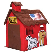Bazoongi Kids FIRE STATION Play Tent