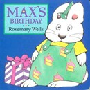 Max's Birthday Baby Board Book Rosemary Wells