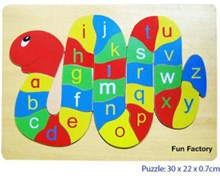 Fun Factory Alphabet Snake Puzzle