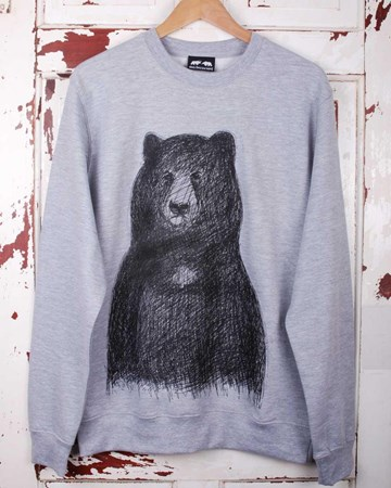 Big Bear Jumper - Grey or Hawaii Blue