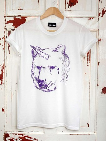 'I Dream Of Unicorn' White T Shirt