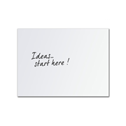 2400mm x 1200mm Edge Acrylic Whiteboard