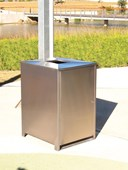 SM1050 Bin Surround Stainless Steel