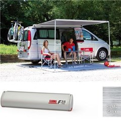 Fiamma F35 Pro awning, 300cm - Titanium case with a grey canopy