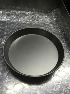 """5 X 9"""" IRON PIZZA PANS 1.5"""" FOR DEEP PAN PIZZA PROFESSIONAL QUALITY 5X9"""" PAN"""