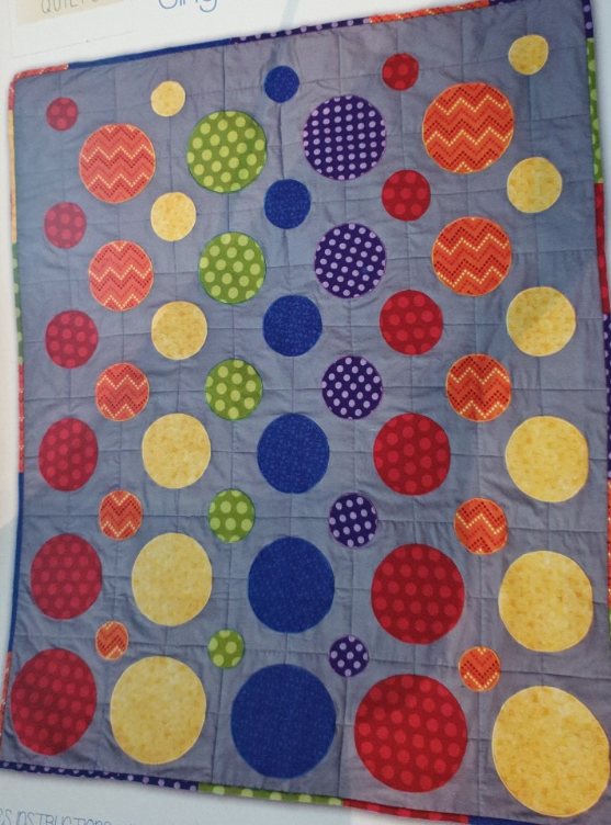Quilt It Dotty.Dotty Quilt By Curious Quilts