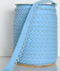 Baby blue lace bias binding (double fold) PRICED PER METRE