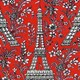Michael Miller Fabrics - Eiffel Tower Red