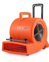 WORK HERO SC-900 COMMERCIAL CARPET BLOWER  AIR MOVER 850 WATTS 3 SPEED TELESCOPIC HANDLE