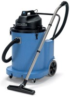 NUMATIC WVD1800DH 70 LITRE WET AND DRY COMMERCIAL VACUUM CLEANER 80 L/SECOND AIRFLOW MADE IN ENGLAND WITH 2 MOTORS (2400WATT TOTAL) WITH CONVENIENT DUMP HOSE, SUPER-TOUGH  STRUCTOFOAM. 2 YEAR WARRANTY