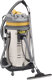 PULLMAN CB60 SS 60 LITRE WET & DRY STAINLESS STEEL, 2 BYPASS MOTORS, 2000WATT COMMERCIAL VACUUM CLEANER.