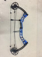 Topoint T3 Compound bow Blue  40-50# RH