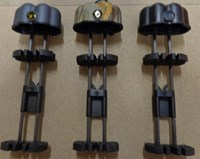 Bow Quiver 5 arrow twin holder