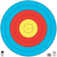 Maple Leaf FITA 6 Ring of 80cm Numbered target