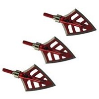 ToPoint Broadhead red 100gr 4 fixed blades each
