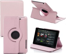 Asus Nexus 7 2013 Light Pink Rotational Case with Stand