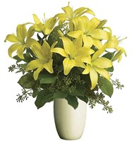 Yellow Lilies, Bunch From $55