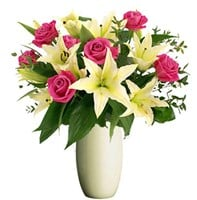 Lilies and Roses, Bunches From $55