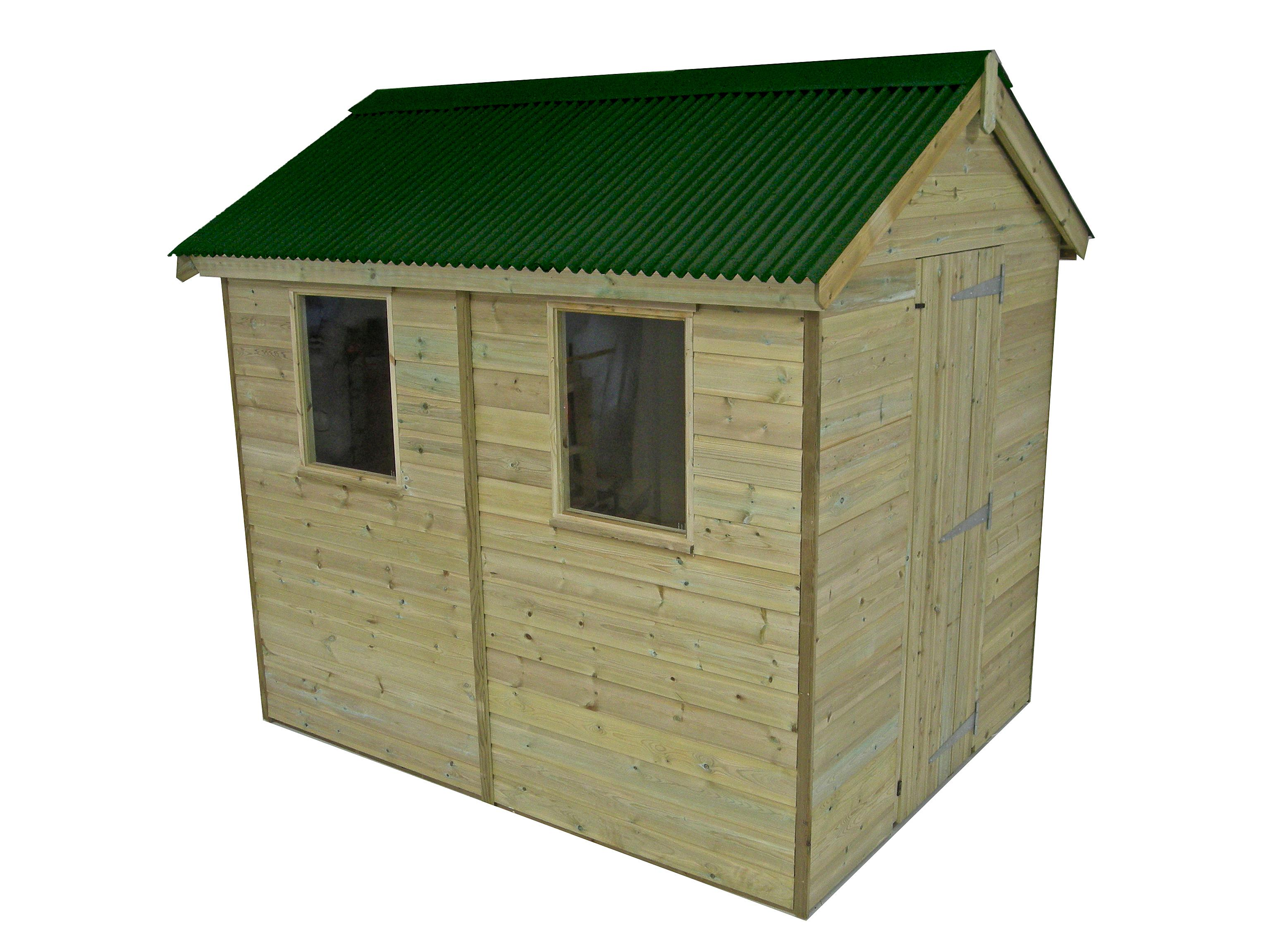Onduline Mini Profile Roof Shed Kit - 6x4ft