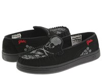 Globe Castro Shoes Black / Skulls