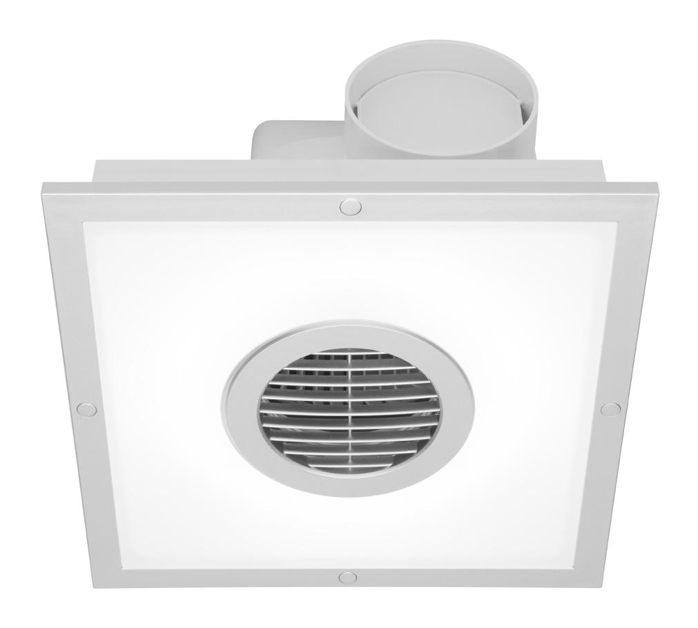Mercator Be010fspsl Skyline Square Exhaust Fan With 22w