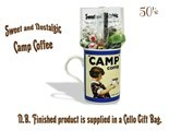 CAMP Coffee Mug with/without 1950's Old Fashioned Sweets