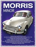 Morris Minor 1000 - A5 Metal Wall Sign