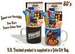 NEW IN..Star Wars - 'Empire Strikes Back' Mug with/without a intergalactic selection of 80's retro sweets