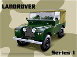Land Rover. Series 1 -  Metal Wall Sign (3 sizes)
